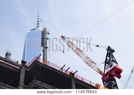 World Trade Center Under Construction, Editorial