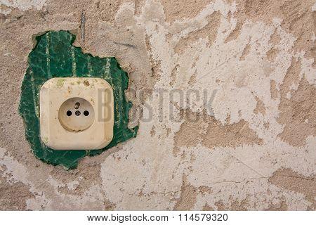 Wall And Socket.