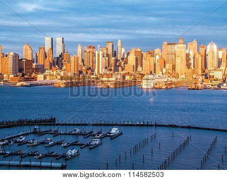 Marina And Skyline