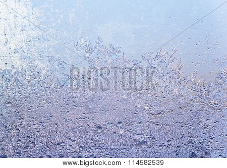 Drizzle On Window