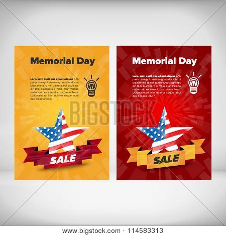 Memorial day flayer