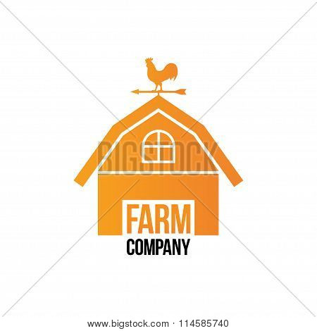 Farm Company Logo - Isolated Vector Illustration