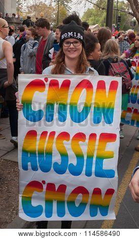 C'mon Aussie C'mon
