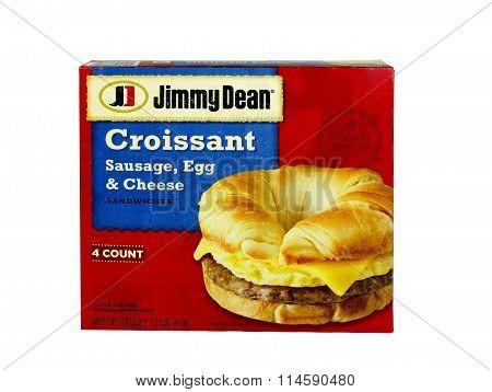 Jimmey Dean Croissants.