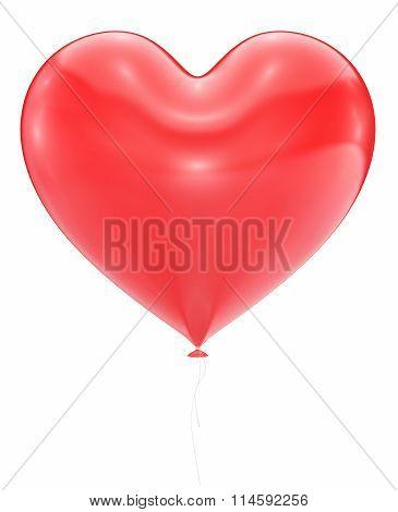Big Red Heart Balloon