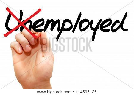 Turning The Word Unemployed Into Employed