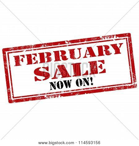 February Sale-stamp
