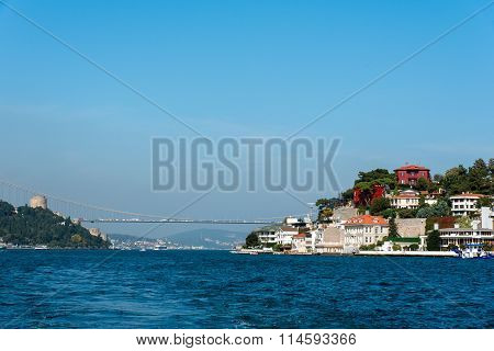 The Bosphorus in Istanbul