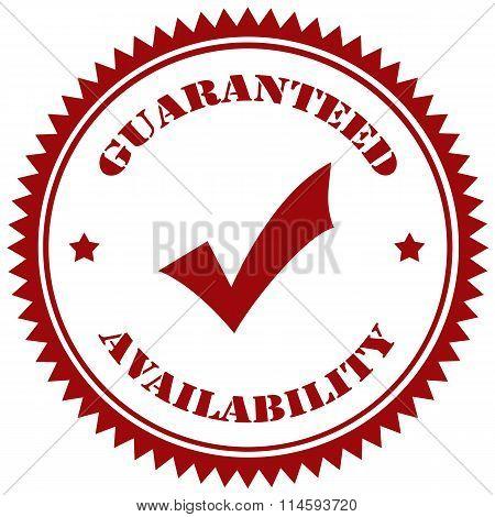 Guaranteed Avalability-stamp