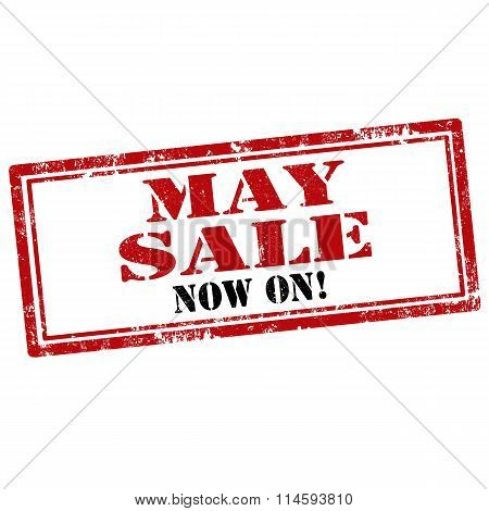 May Sale-stamp