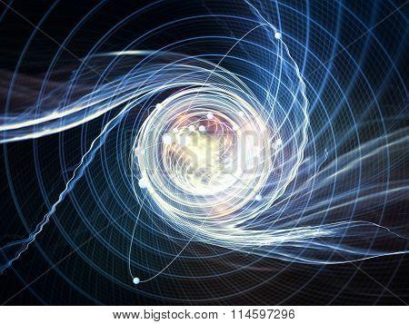 Atom Background
