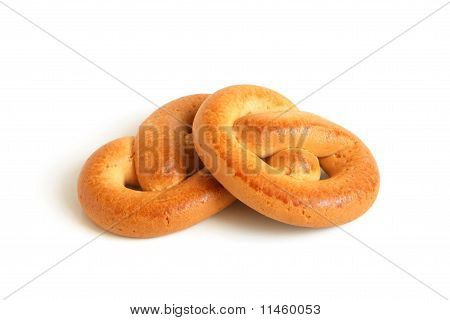 Knot-shaped Biscuits