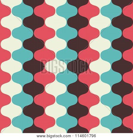 Hypnotic Seamless Pattern Background