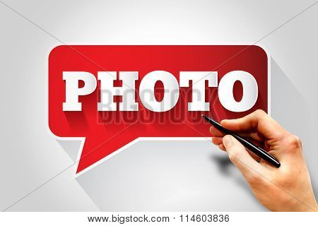 Photo Text Message