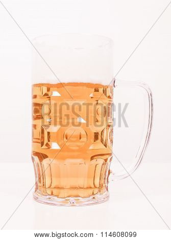 Retro Looking Lager Beer Glass