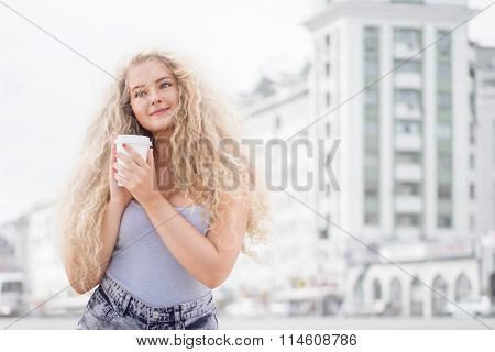 Young Woman with a Happy Smile