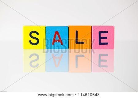 Sale - An Inscription From Children's Blocks