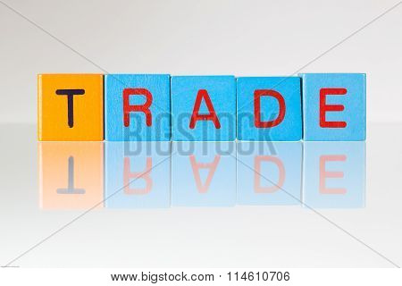 Trade - An Inscription From Children's Blocks