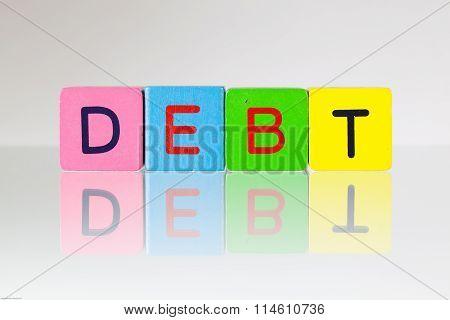 Debt - An Inscription From Children's Blocks