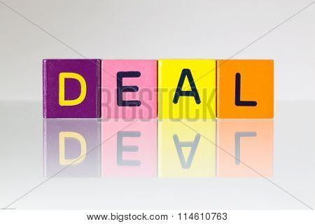 Deal - An Inscription From Children's Blocks