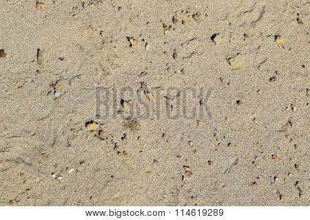 Background From Construction Sand