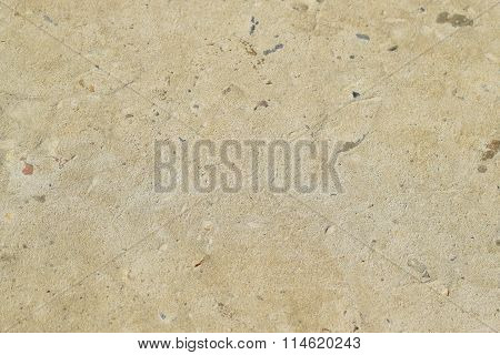 Background from the hardened cement mortar