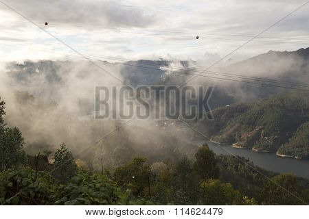 Low Cloud Along The Valley