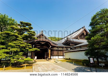Chion-in Temple Side Entrance Path Kyoto H