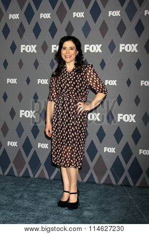 LOS ANGELES - JAN 15:  Alex Borstein at the FOX Winter TCA 2016 All-Star Party at the Langham Huntington Hotel on January 15, 2016 in Pasadena, CA