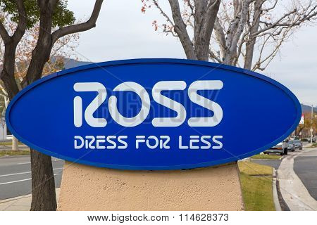 Ross Dress For Less Store Sign
