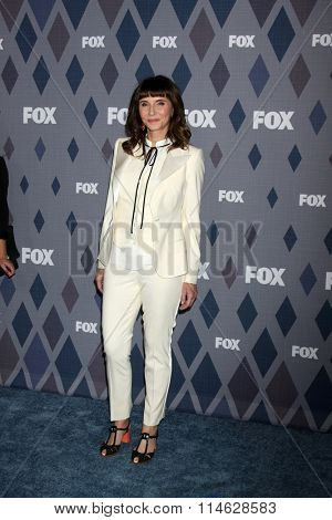 LOS ANGELES - JAN 15:  Mary Steenbergen at the FOX Winter TCA 2016 All-Star Party at the Langham Huntington Hotel on January 15, 2016 in Pasadena, CA