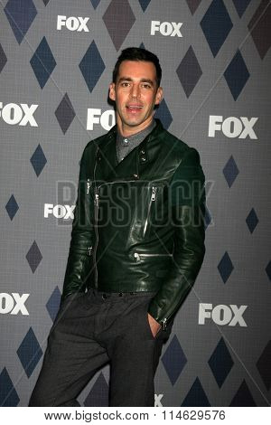LOS ANGELES - JAN 15:  John Roberts at the FOX Winter TCA 2016 All-Star Party at the Langham Huntington Hotel on January 15, 2016 in Pasadena, CA