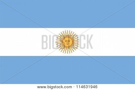 Standard Proportions For Argentina Flag