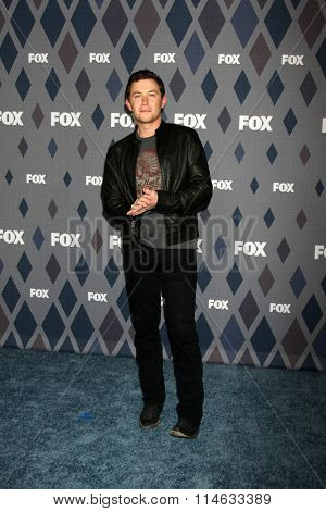LOS ANGELES - JAN 15:  Scotty McCreery at the FOX Winter TCA 2016 All-Star Party at the Langham Huntington Hotel on January 15, 2016 in Pasadena, CA