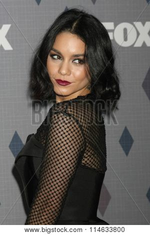 LOS ANGELES - JAN 15:  Vanessa Hudgens at the FOX Winter TCA 2016 All-Star Party at the Langham Huntington Hotel on January 15, 2016 in Pasadena, CA