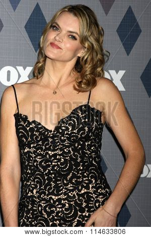 LOS ANGELES - JAN 15:  Missi Pyle at the FOX Winter TCA 2016 All-Star Party at the Langham Huntington Hotel on January 15, 2016 in Pasadena, CA