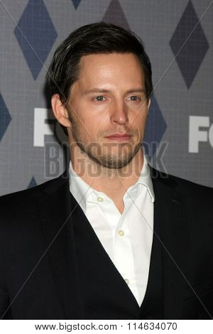 LOS ANGELES - JAN 15:  Andrew Call at the FOX Winter TCA 2016 All-Star Party at the Langham Huntington Hotel on January 15, 2016 in Pasadena, CA