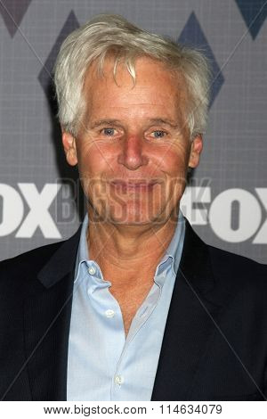 LOS ANGELES - JAN 15:  Chris Carter at the FOX Winter TCA 2016 All-Star Party at the Langham Huntington Hotel on January 15, 2016 in Pasadena, CA