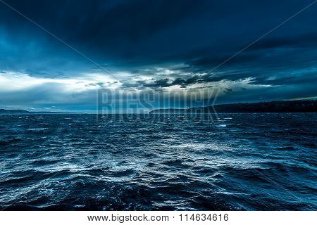 The Turbulent Sea