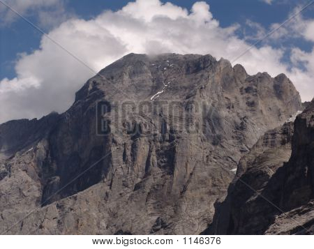 Mountain In Grindelwald Wilderness