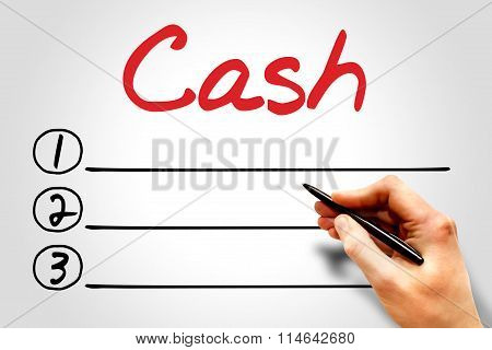 Cash Blank List