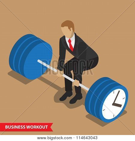 business workout deadlift