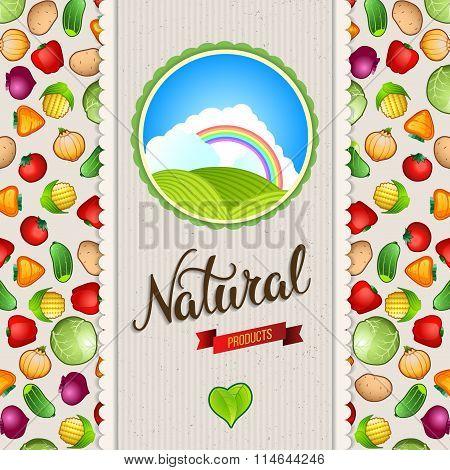 Organic, Bio, Natural Food Design Template