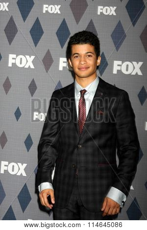 LOS ANGELES - JAN 15:  Jordan Fisher at the FOX Winter TCA 2016 All-Star Party at the Langham Huntington Hotel on January 15, 2016 in Pasadena, CA