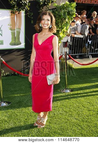 LOS ANGELES, CALIFORNIA - August 6, 2012. India De Beaufort at the Los Angeles premiere of 'The Odd Life Of Timothy Green' held at the El Capitan Theater, Los Angeles.
