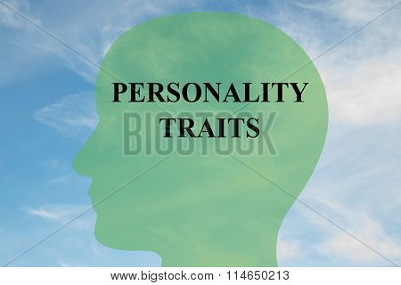 Personality Traits Concept