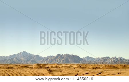 Sahara Rocks And Mountains