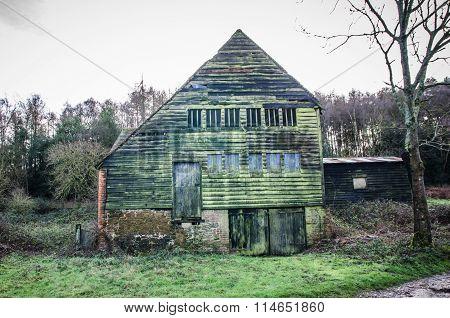 Old Wooden Barn Surrey UK