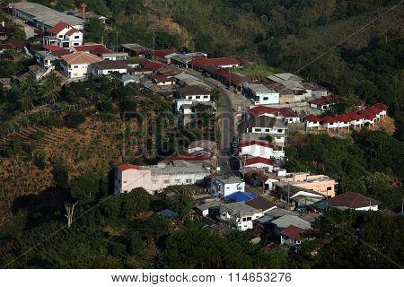 Asia Thailand Chiang Rai Mae Salong Village