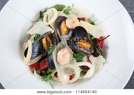 Sea Salad With Mussels And Squids